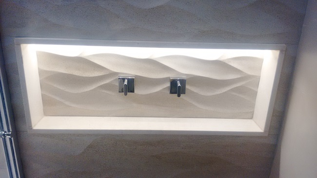 Ambientes  MR Marmoraria Resende ltda -> Nicho Banheiro De Marmore